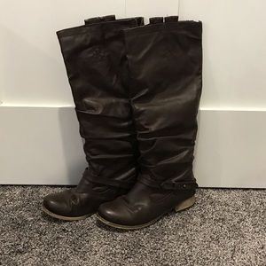 Aldo tall brown boots